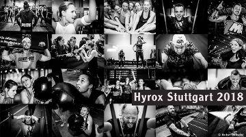 HYROX Stuttgart 2018