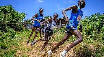 Cross Lauf in Kenia