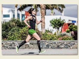 Portaitfotografie Laufen auf Lanzarote